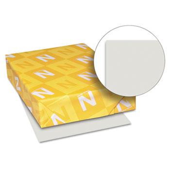 "Neenah Paper Exact Vellum Bristol Cover Stock, 67 lb./147 gsm., 8 1/2"" x 11"", Gray, 250 SHTS/PK"