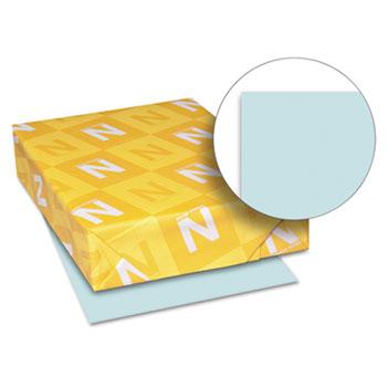 "Neenah Paper Exact Index Card Stock, 90 lb./163 gsm., 8 1/2"" x 11"", Blue, 250 SHTS/PK"