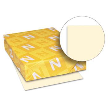 "Neenah Paper Exact Vellum Bristol Cover Stock, 67 lb./147 gsm., 8 1/2"" x 11"", Ivory, 250 SHTS/PK"