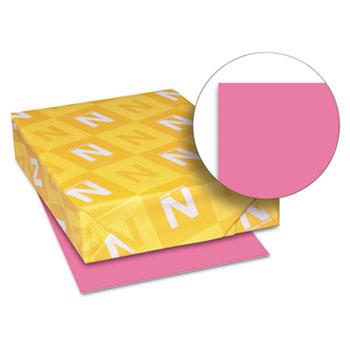 "Astrobrights® Color Paper, 8 1/2"" x 11"", 24 lb./89 gsm., Plasma Pink™, 500/RM"