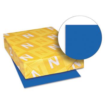 "Astrobrights® Color Paper, 8 1/2"" x 11"", 24 lb./89 gsm., Blast-Off Blue™, 500/RM"