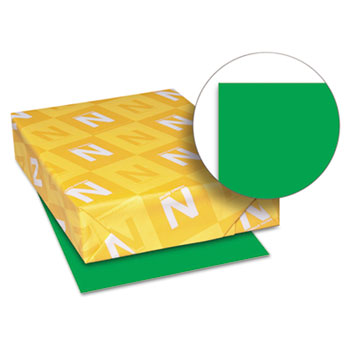 "Astrobrights® Color Paper, 8 1/2"" x 11"", 24 lb./89 gsm., Gamma Green™, 500/RM"