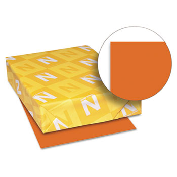 "Color Paper, 8 1/2"" x 11"", 24 lb./89 gsm., Orbit Orange™, 500/RM"