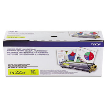 TN225Y High-Yield Toner, Yellow