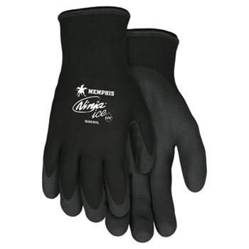 Memphis™ Ninja Ice Gloves, Large, Black