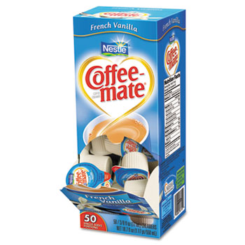French Vanilla Liquid Coffee Creamer, 0.38 oz. Single-Serve Cups, 200/CS