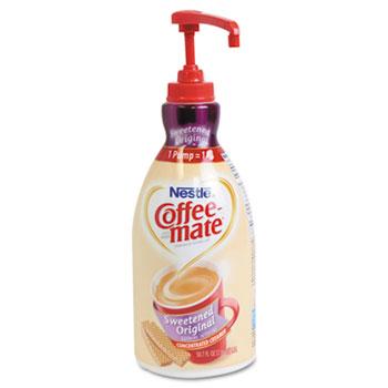Sweetened Original Liquid Coffee Creamer, 1.5 L Pump Bottle