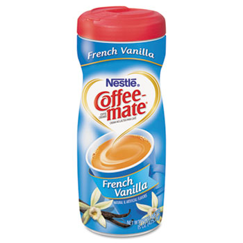 French Vanilla Powdered Coffee Creamer, 15 oz. Canister