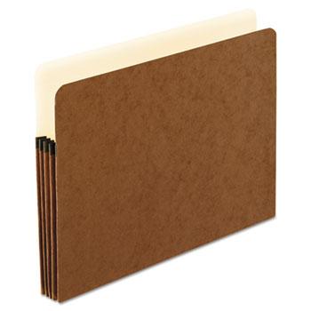 Pendaflex® Smart Shield File Pocket, 1 Pocket, Straight Cut, Letter, Red Fiber