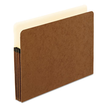 Pendaflex® Standard Expanding File Pockets, Manila, Straight Cut, 1 Pocket, Letter, Redrope, 25/BX