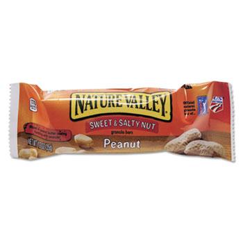 Nature Valley® Granola Bars, Sweet & Salty Nut Peanut Cereal, 1.2oz Bar, 16/BX