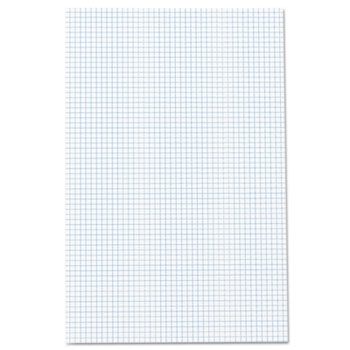 Ampad™ Quadrille Pads, 11 x 17, White, 50 Sheets