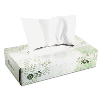 Facial Tissue, 100/Box, 30 Boxes/Carton