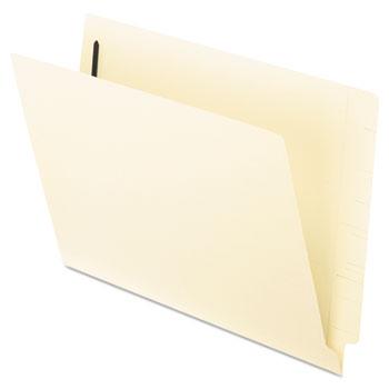 Pendaflex® End Tab Expansion Folders, 2 Fasteners, Straight Cut Tab, Letter, Manila, 50/Box