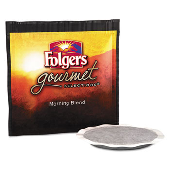 Folgers® Gourmet Selections Coffee Pods, Morning Blend, 18/Box