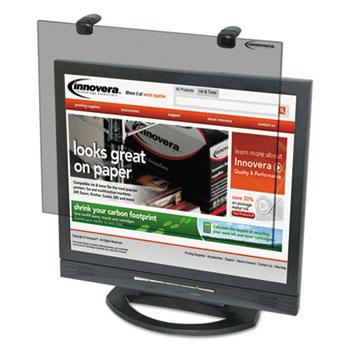 """Innovera® Protective Antiglare LCD Monitor Filter, Fits 19"""" LCD Monitors"""