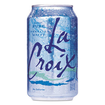 Sparkling Water, Pure, 12 oz. Can, 24/CT