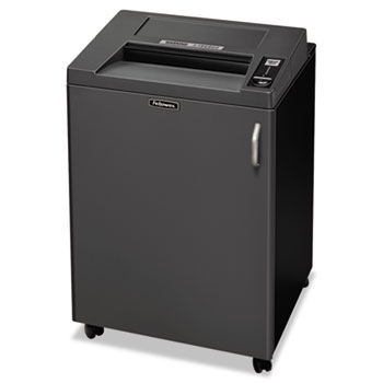 Fellowes® Fortishred 3850C Continuous-Duty Cross-Cut Shredder, 24 Sheet Cap, TAA Compliant