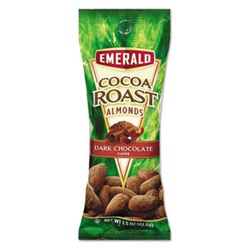 Cocoa Roast Almonds, 1.5 oz. Tube Package, 12/Box