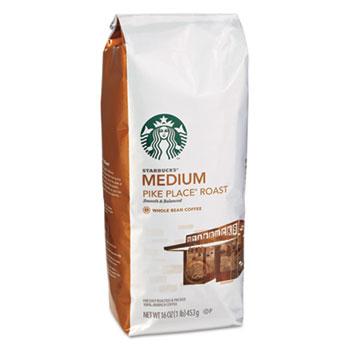 Whole Bean Coffee, Pike Place Roast, 1 lb. Bag
