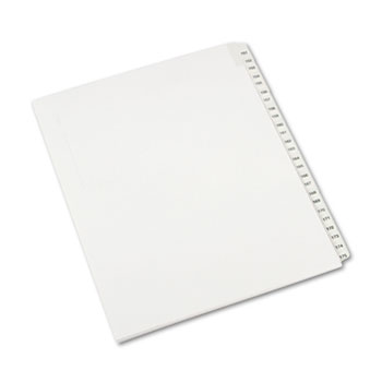 Avery® Collated Legal Dividers Allstate® Style, Side Tab Dividers, Letter Size, 151-175 Tab Set