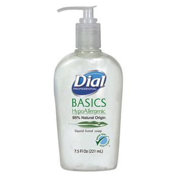 Basics Liquid Hand Soap, 7.5 oz., Rosemary & Mint, Pump Bottle