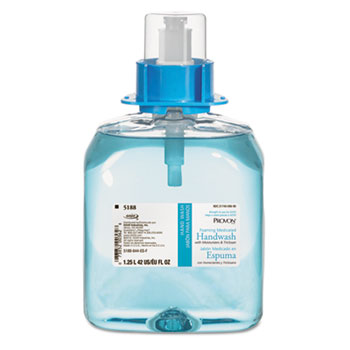 Foaming Medicated Handwash w/Moisturizer, Floral Foam, 1250mL, 3/Carton
