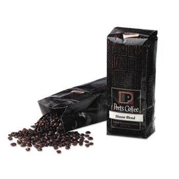 Peet's Coffee & Tea® Bulk Coffee, House Blend, Whole Bean, 1 lb. Bag