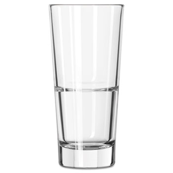 Libbey Endeavor Beverage Glasses, 12 oz, Clear, 12/CT