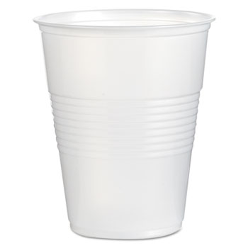 Translucent Plastic Cold Cups, 16 oz, Polypropylene, 20 Cups/Sleeve, 50 Sleeves/Carton