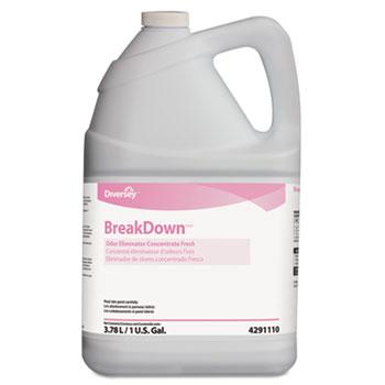 Diversey™ Butcher's Odor Eliminator, Fresh Scent, Liquid, 1 gal. Bottle