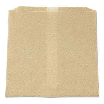 Hospital Specialty Co. Waxed Napkin Receptacle Liners, 7-3/4 x 10-1/2 x 8-1/2, Brown, 500/Case