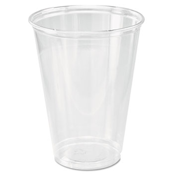 SOLO® Cup Company Ultra Clear Cups, Tall, 10 oz., PET, 50/PK, 1000/CT