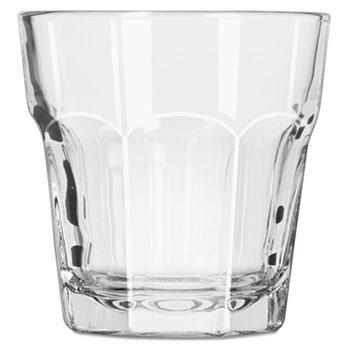 "Libbey Gibraltar Rocks Glasses, Rocks, 7oz, 3 1/4"" Tall, 36/CT"
