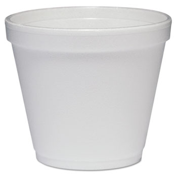 Dart® Containers, Foam, 8oz, White, 1000/CT