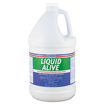 ITW Dymon® LIQUID ALIVE Enzyme Producing Bacteria, 1 gal., Bottle, 4/CT