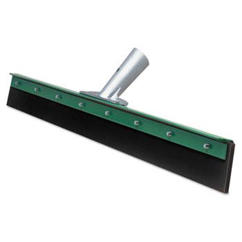 Unger® Aquadozer Heavy Duty Floor Squeegee, 30 Inch Blade, Green/Black Rubber, Straight