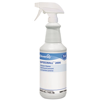 Speedball 2000 Heavy-Duty Cleaner, Citrus, Liquid, 1 qt. Spray Bottle, 12/CT