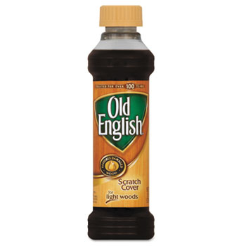 OLD ENGLISH® Furniture Scratch Cover, For Light Wood, 8oz Bottle, 6/Carton