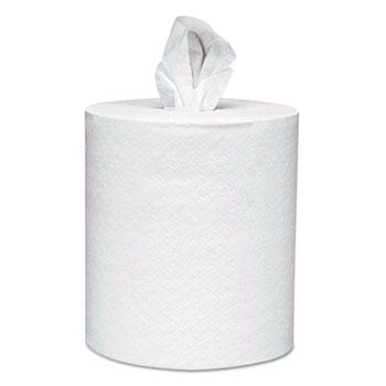 Scott® Center-Pull Towels, 8 x 15, White, 500 Sheets/Roll, 4 Rolls/Carton