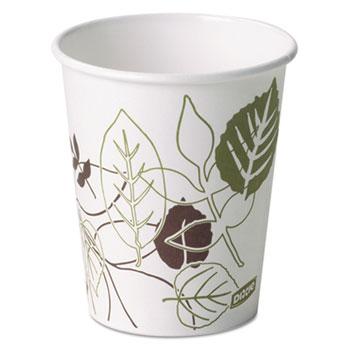 Pathways Paper Hot Cups, 10 oz (Fits Large Lids), 50/PK