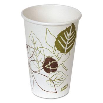 Pathways Paper Hot Cups, 16oz (Fits Large Lids), 50/Pack