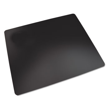 Artistic® Rhinolin II Desk Pad with Antimicrobial Protection, 36 x 20, Black