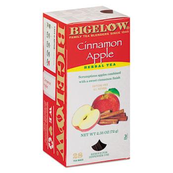 Single Flavor Tea, Decaffeinated Cinnamon Apple, 28 Bags/Box