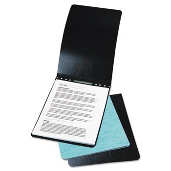 "ACCO® Presstex Report Cover, Prong Clip, Letter, 2"" Capacity, Black"