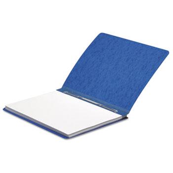 "ACCO® Presstex Report Cover, Prong Clip, Letter, 3"" Capacity, Dark Blue"