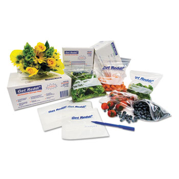 Get Reddi Food & Poly Bag, 12 x 8 x 30, 24-Quart, 1.00 Mil, Clear, 500/CT