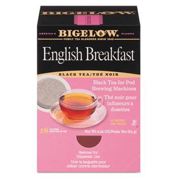 Bigelow® English Breakfast Tea Pods, 1.90 oz, 18/Box