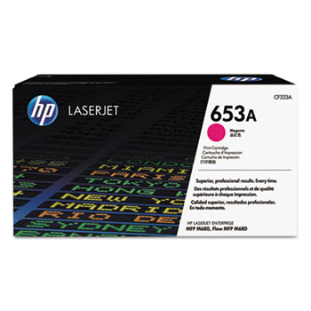 653A (CF323A) Toner Cartridge, Magenta