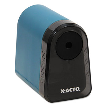 X-ACTO® Mighty Mite Home Office Electric Pencil Sharpener, Mineral Green